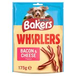 Bakers Complete Dog Treat Bacon and Cheese Whirlers