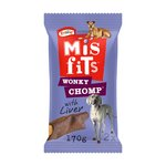 Misfits Wonky Chomp for Medium Dogs with Liver
