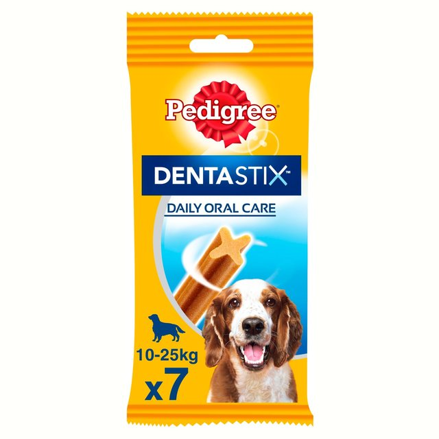 Pedigree Dentastix Daily Adult 1+ Medium Dental Dog Treats 7 Sticks