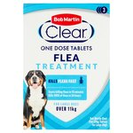 Bob Martin Clear Flea Tablets for Large Dogs over 11kg - 3 treatments