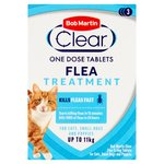 Bob Martin Clear Flea Tablets for Cats - 3 treatments