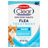 Morrisons Bob Martin Clear Flea Tablets For Cats 3