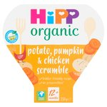 HiPP Organic Potato, Pumpkin & Chicken Scrumble 12+ Months