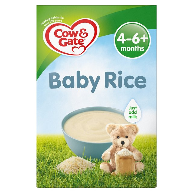 Morrisons Cow Gate 4 Mths Pure Baby Rice 100g Product Information