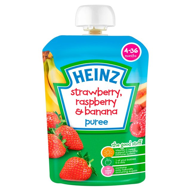 puree raspberry banana puree baby food raspberry banana