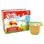 Cow & Gate Mangoes, Bananas, Apples & Baby Rice Pudding Fruit Pots