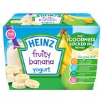 Heinz 4-36 Mths Fruity Banana Yogurt