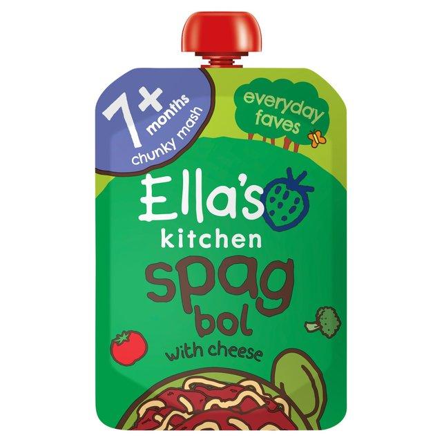 Morrisons Ella S Kitchen 7 Mths Organic Spag Bol With A