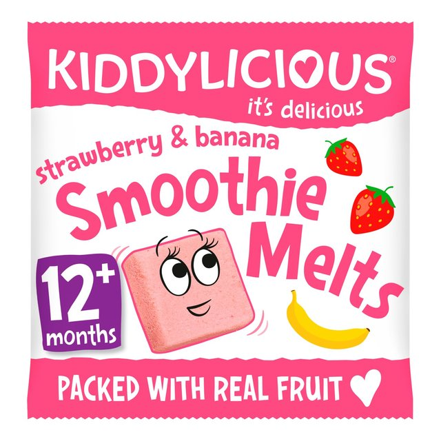 Kiddylicious Strawberry & Banana Smoothie Melts
