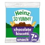 Heinz 7 Mths+ Chocolate Biscotti Biscuits