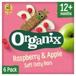 Organix Raspberry & Apple Organic Soft Oat Snack Bars Multipack
