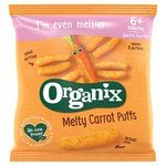 Organix 7 Mths+ Finger Foods Organic Crunchy Carrot Sticks