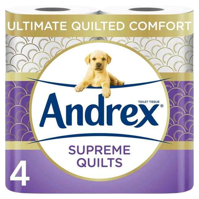 Andrex Supreme Quilts Toilet Roll