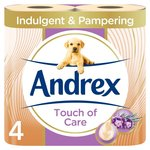 Andrex Smooth Enriched with Shea Butter Toilet Tissue