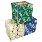 Kleenex Collection Cube Single Box Tissues