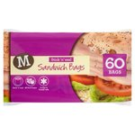 Morrisons Easy Seal Sandwich Bags