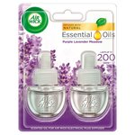 Airwick Double Fresh Twin Electrical Refill Purple Lavender Meadow