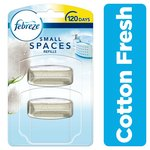 Febreze Small Spaces Air Freshener Refill Cotton Fresh