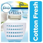 Febreze Small Spaces Air Freshener Starter Kit Cotton Fresh