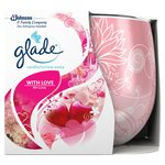 Glade With Love Rose Floral Candle