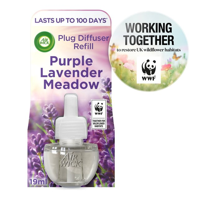 Air Wick Purple Lavender Meadow Scented Oil Refill