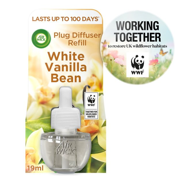 Air Wick White Vanilla Bean Scented Oil Refill