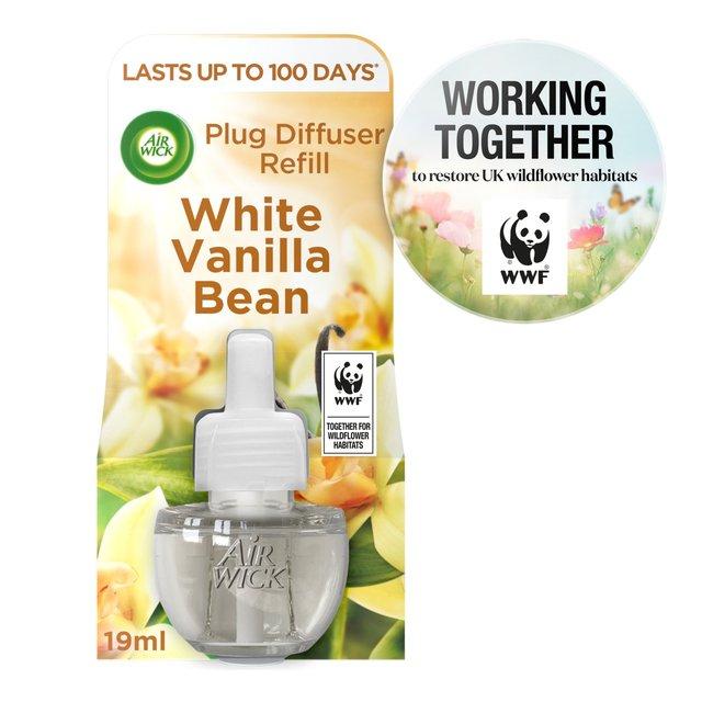 Air Wick White Vanilla Bean Scented Oil Refill