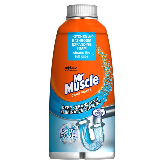 Best bathroom cleaner for shower - Morrisons Mr Muscle Sink Amp Drain Foamer 250ml Product