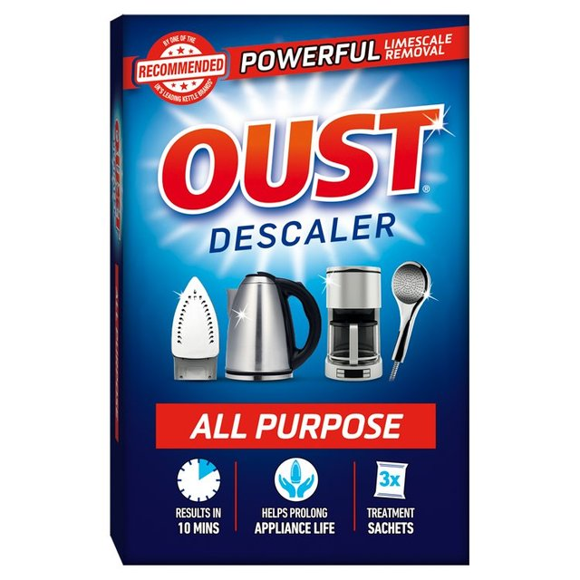 oust all purpose descaler instructions