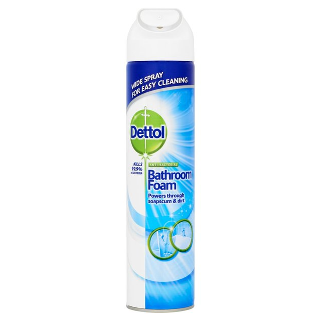 Dettol Power & Pure Anti-Bacterial Bathroom Foam Cleanser