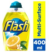 Flash Ultra Power Liquid Gel Multi Surface Cleaner Lemon