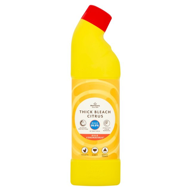 Morrisons Citrus Thick Bleach