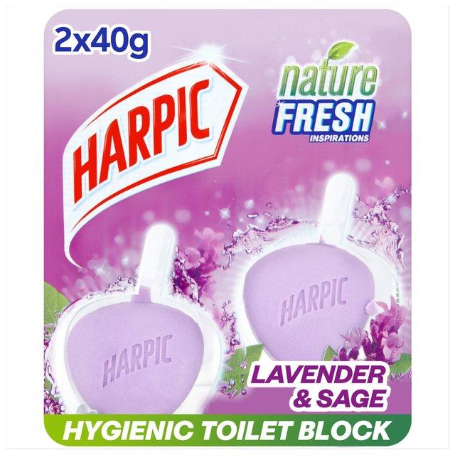 Harpic Active Fresh Rim Block Toilet Cleaner Lavender Scent