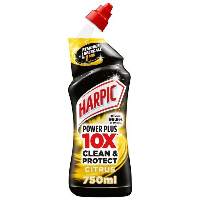 Morrisons Harpic Power Plus Citrus Fresh Liquid Toilet