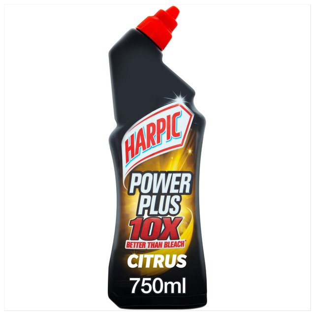 harpic power plus citrus fresh liquid toilet cleaner