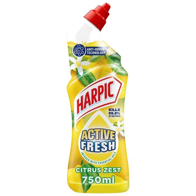 Morrisons Harpic Active Fresh Cleansing Gel Citrus 750ml
