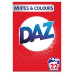 Daz Washing Powder Whites & Colours 22 Washes