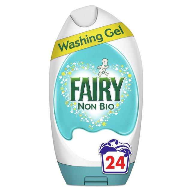 Morrisons Fairy Non Bio Washing Gel 24 Washes 888ml