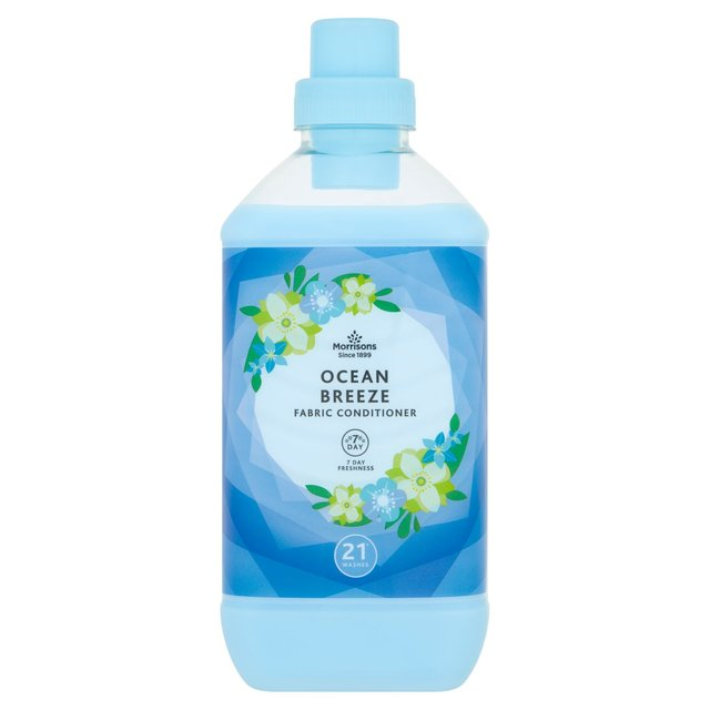 Morrisons Ocean Breeze Fabric Conditioner 21 Washes Morrisons