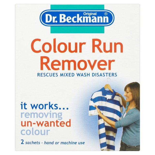 morrisons dr beckmann colour run remover 2 x 65ml. Black Bedroom Furniture Sets. Home Design Ideas