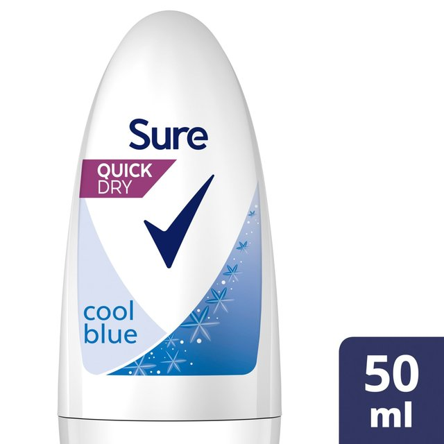 Morrisons: Sure Women Cool Blue Roll-On Anti-Perspirant Deodorant 50ml ...