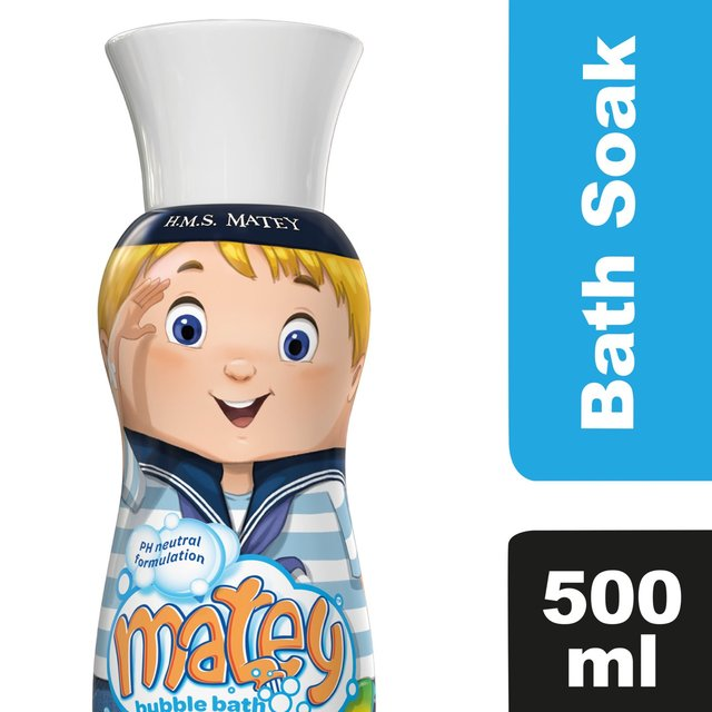 Morrisons Matey Max Bubble Bath 500ml Product Information