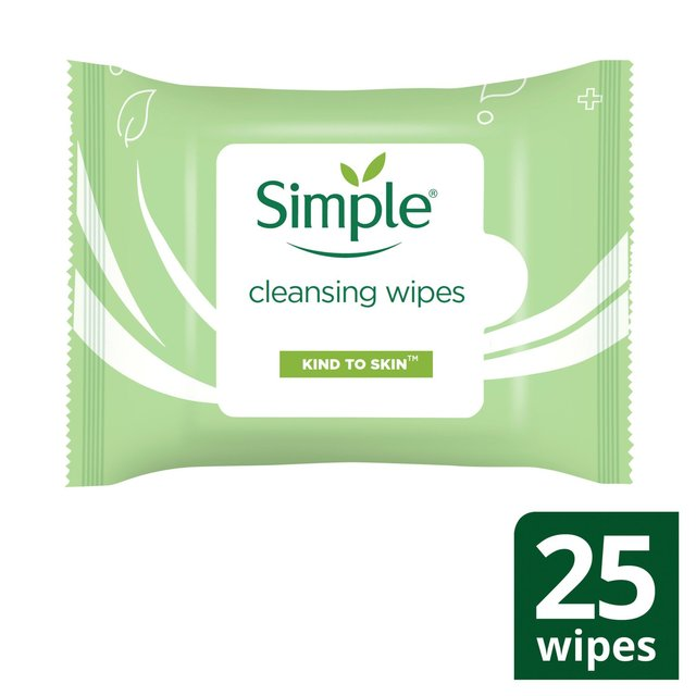 Simple Kind To Skin Cleansing Facial Wipes Sensitive Skin