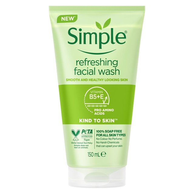 simple face wash morrisons simple to skin refreshing gel wash 29721