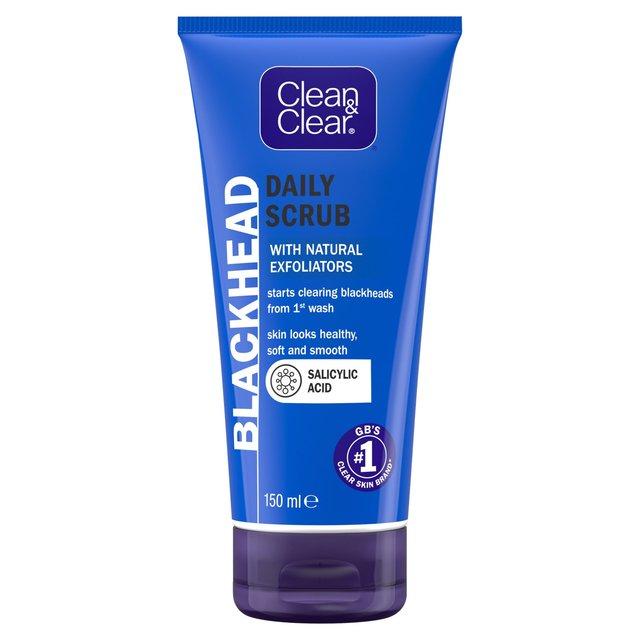 Morrisons: Clean & Clear Blackhead Clearing Daily Scrub ...