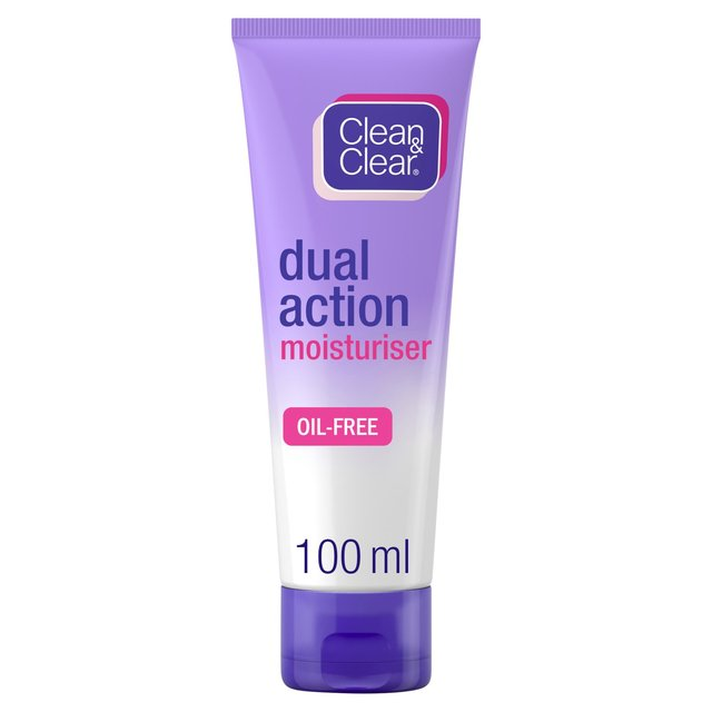 Morrisons: Clean & Clear Dual Action Moisturiser 100ml ...