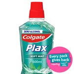 Colgate Plax Soft Mint Green Mouthwash