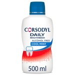 Corsodyl Daily Defence Cool Mint Mouthwash