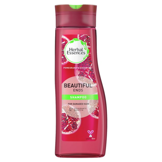 Herbal Essences Shampoo Beautiful Ends Red Raspberry & Silk Extracts