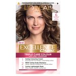 L'Oreal Excellence Creme Triple Care Colour 6 Natural Light Brown